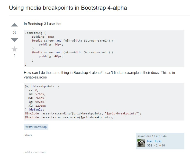 Bootstrap Breakpoints  trouble