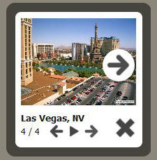 pop up to modal popup javascript Jquery Slideshow Controls