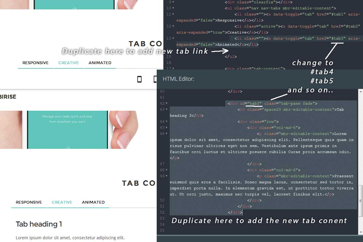 Simple Bootstrap Landing Page Theme