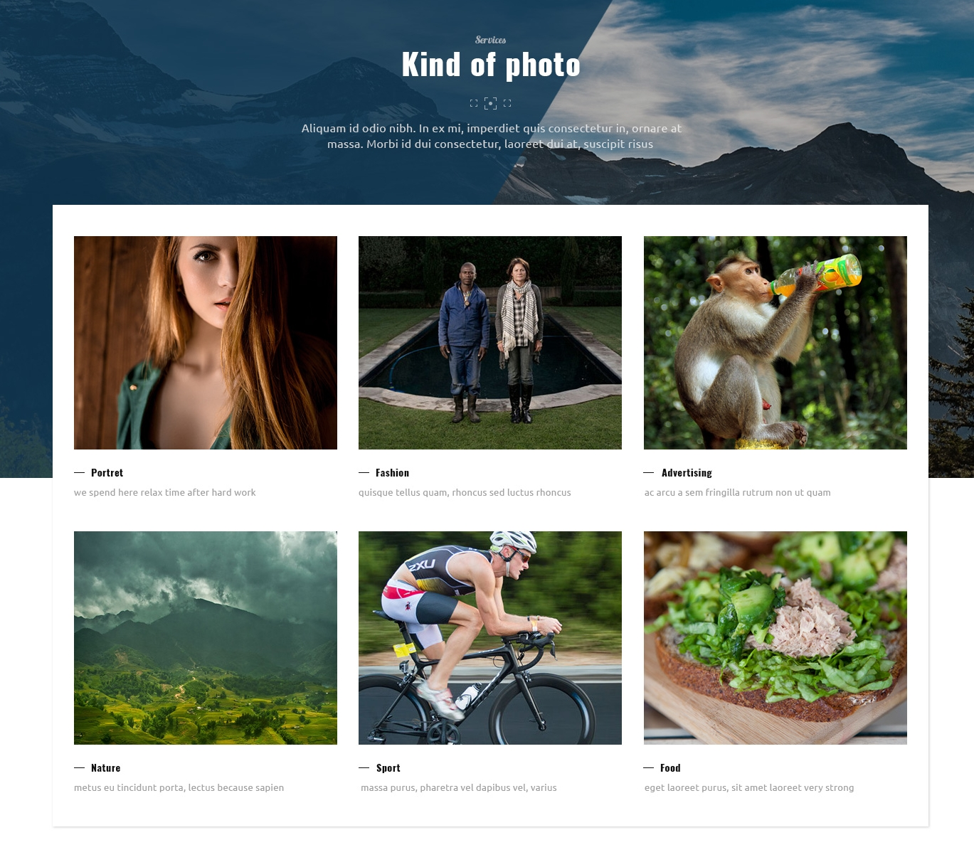 HTML Bootstrap Basic Theme
