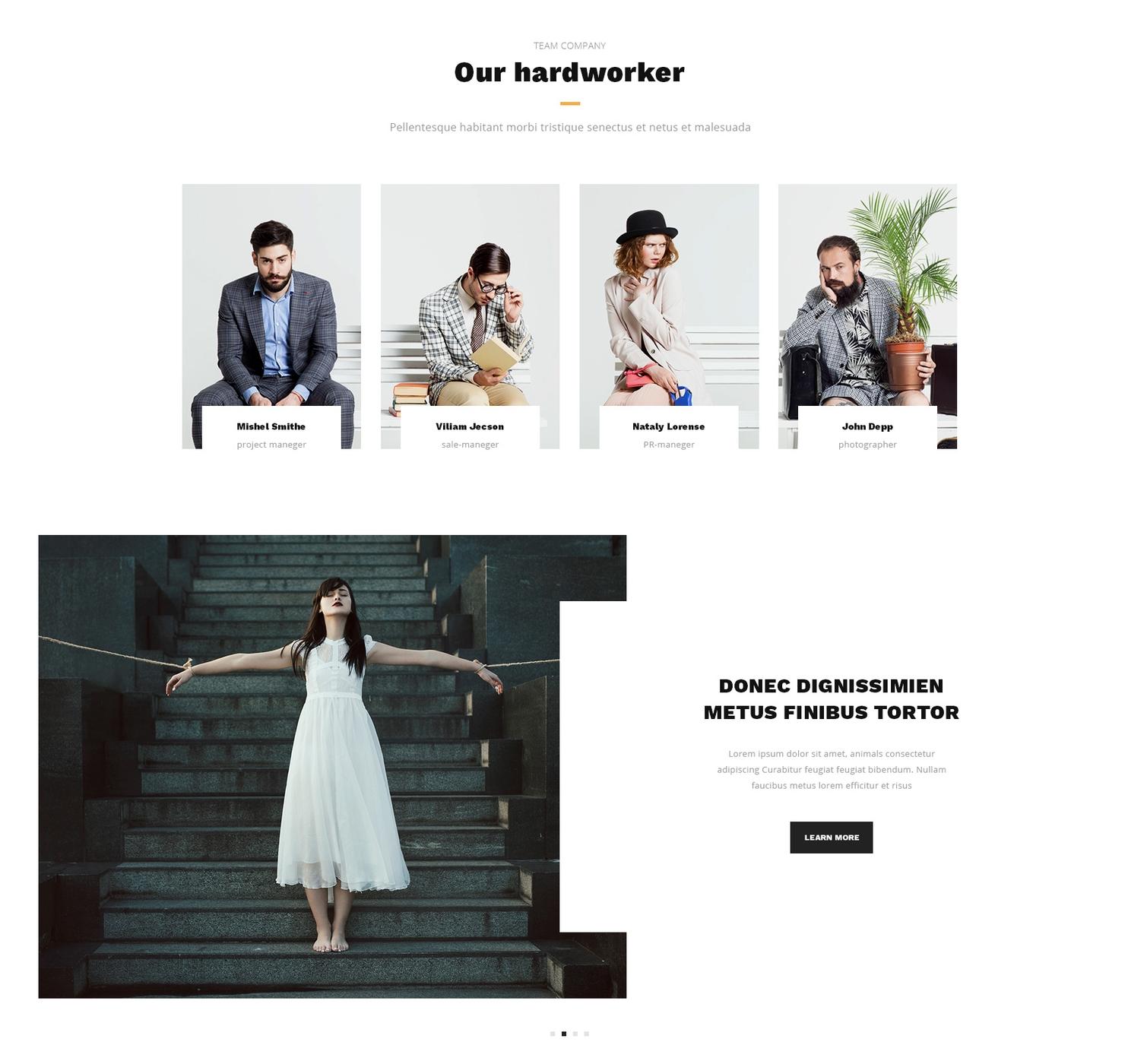 CSS3 Bootstrap Carousel Theme