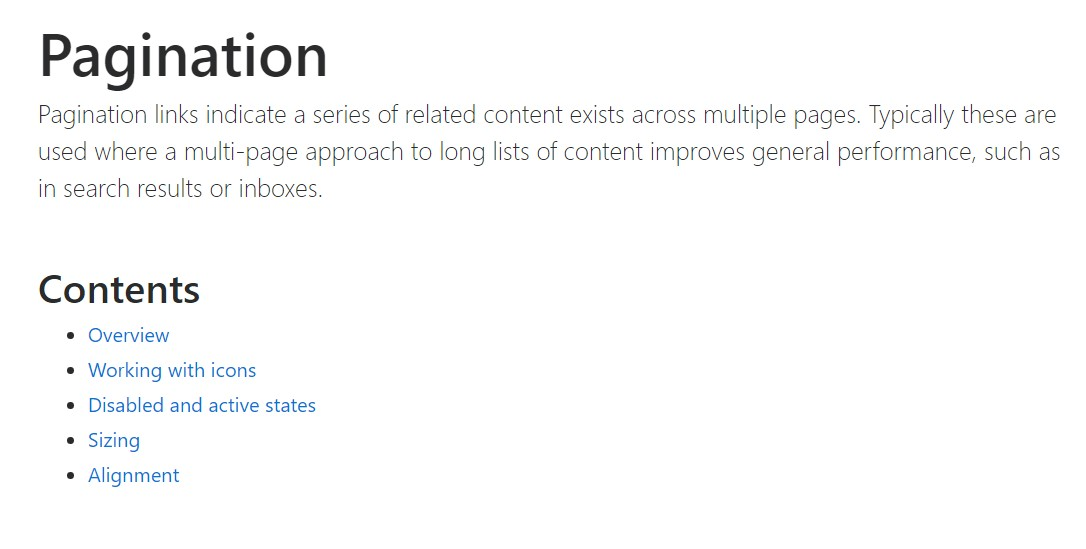 Bootstrap pagination  main  documents