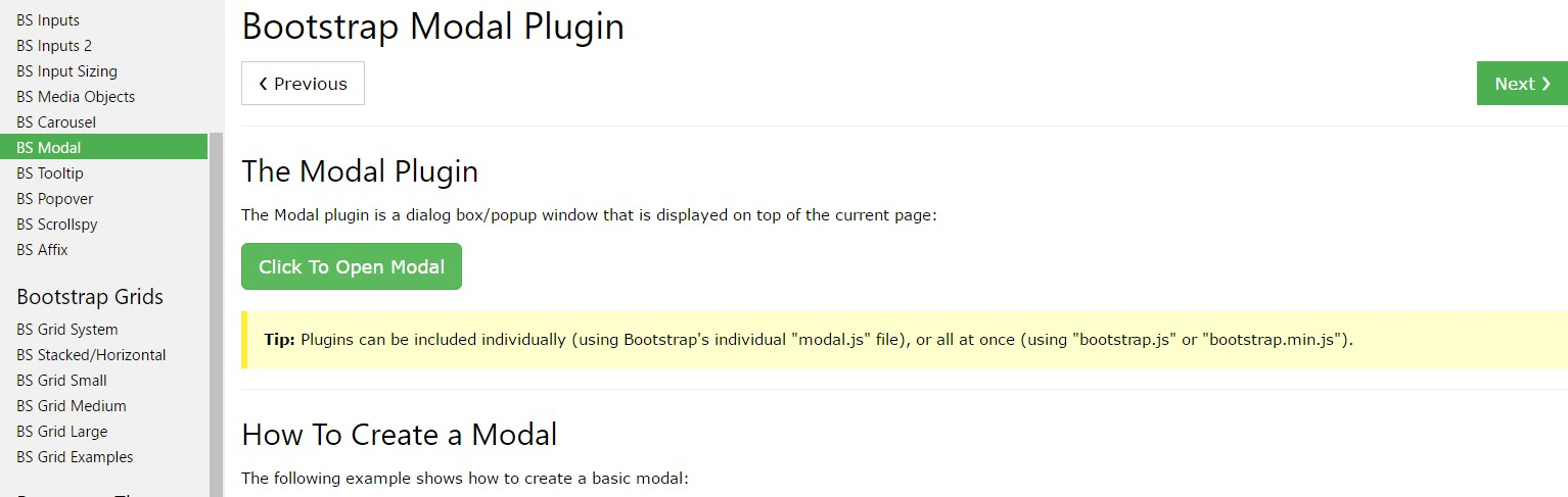 Bootstrap Modal Popup: tutorial  guide