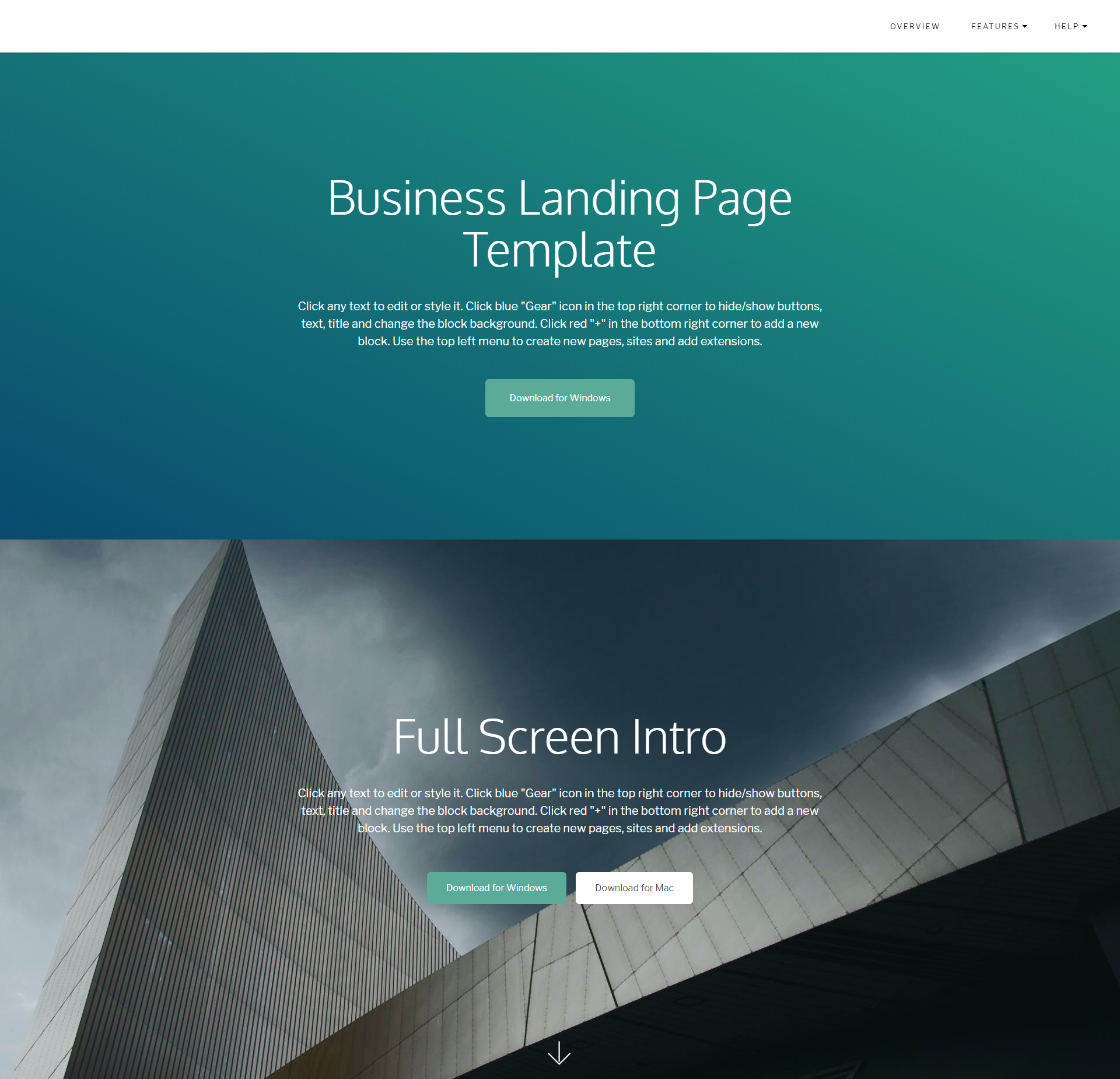 CSS3 Bootstrap DirectM Templates