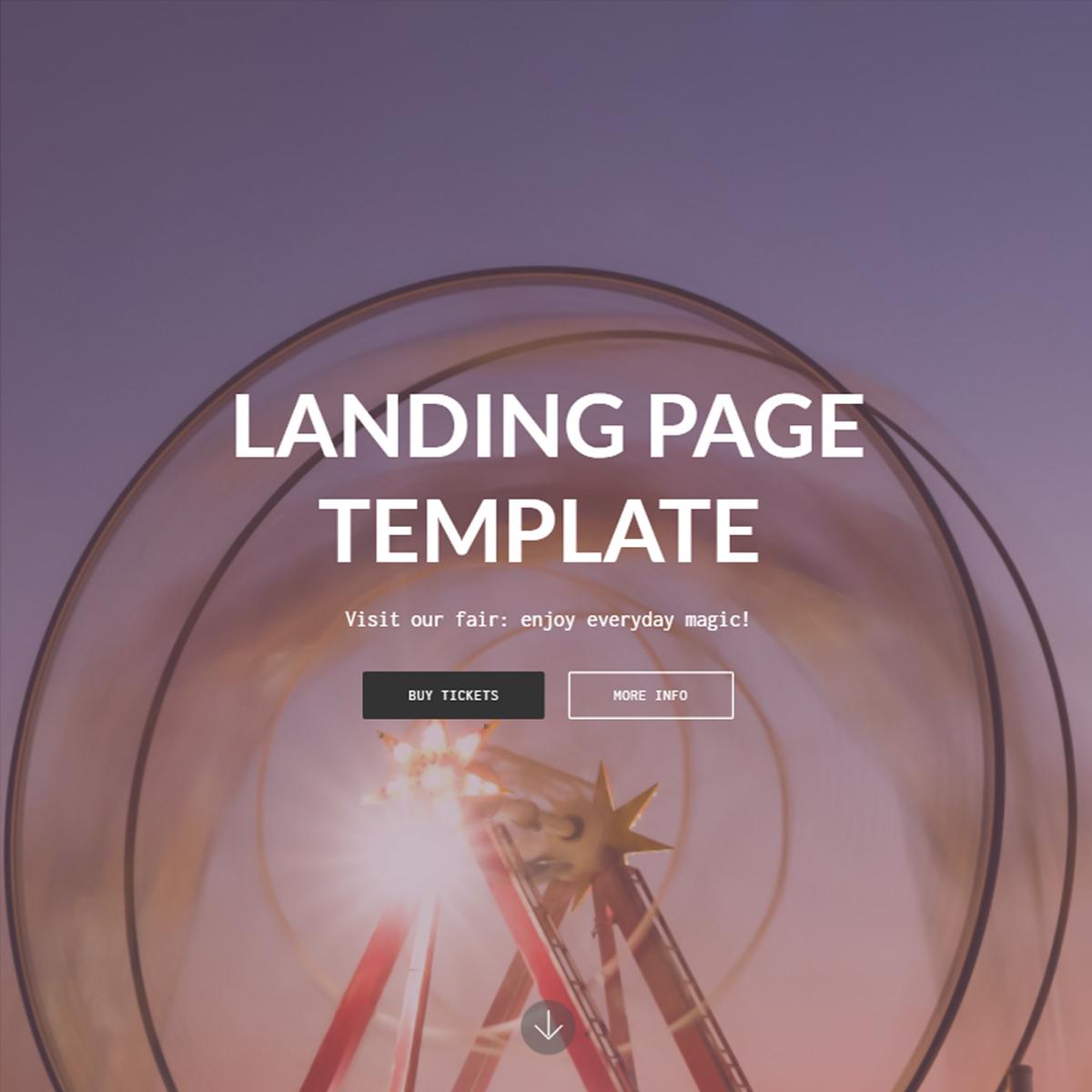 Responsive Bootstrap Landing Themes