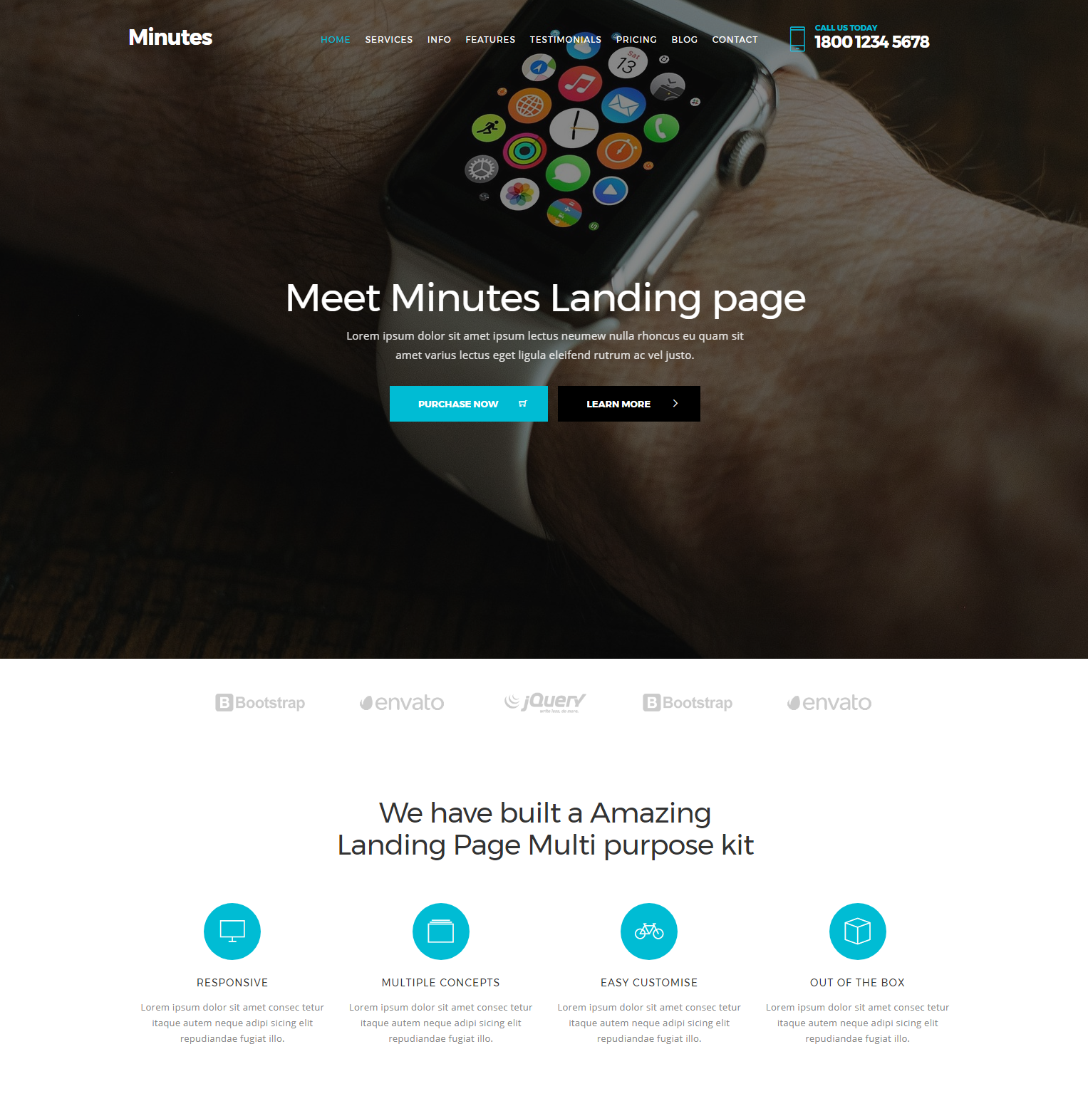 HTML5 Bootstrap Minutes Templates