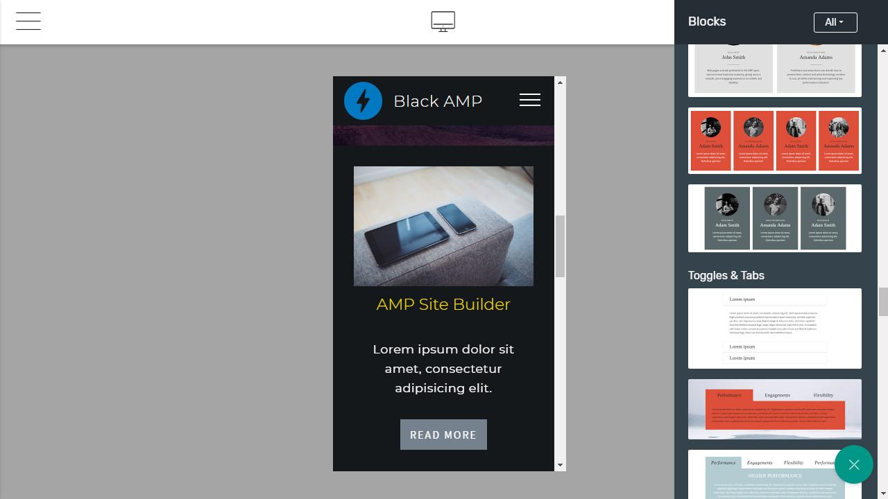Mobile Website Maker