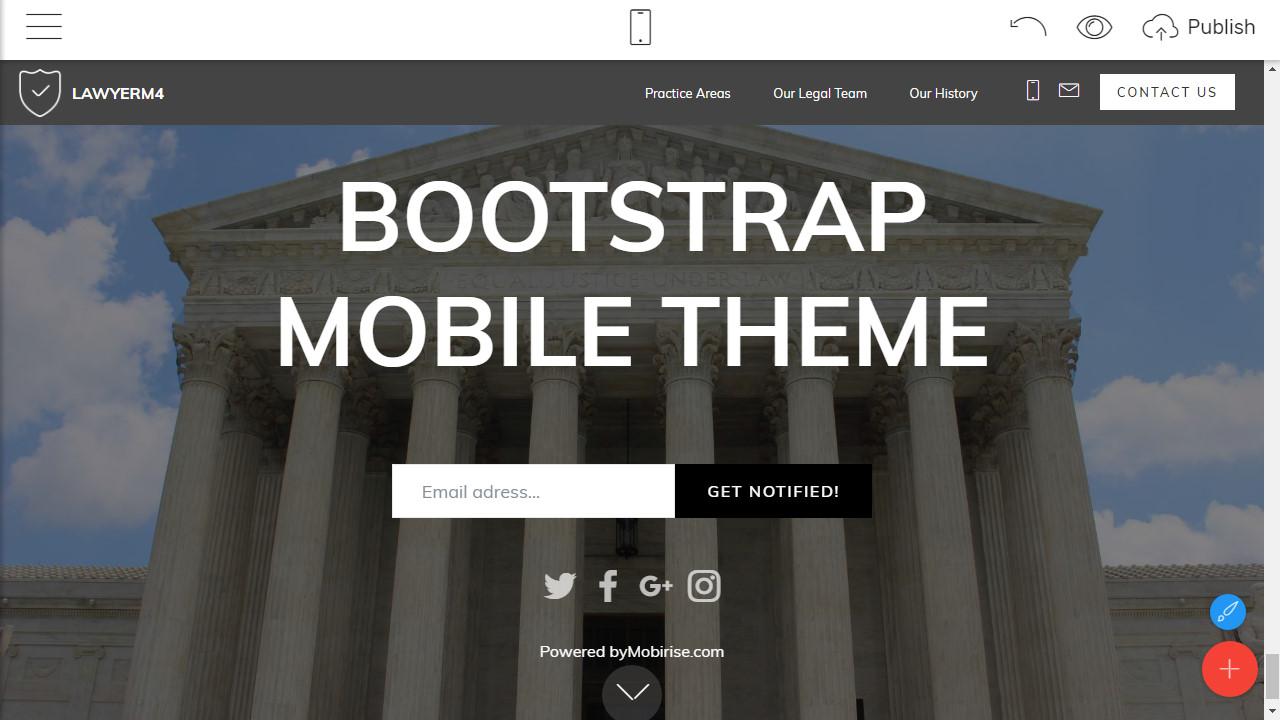 HTML5 Website Template
