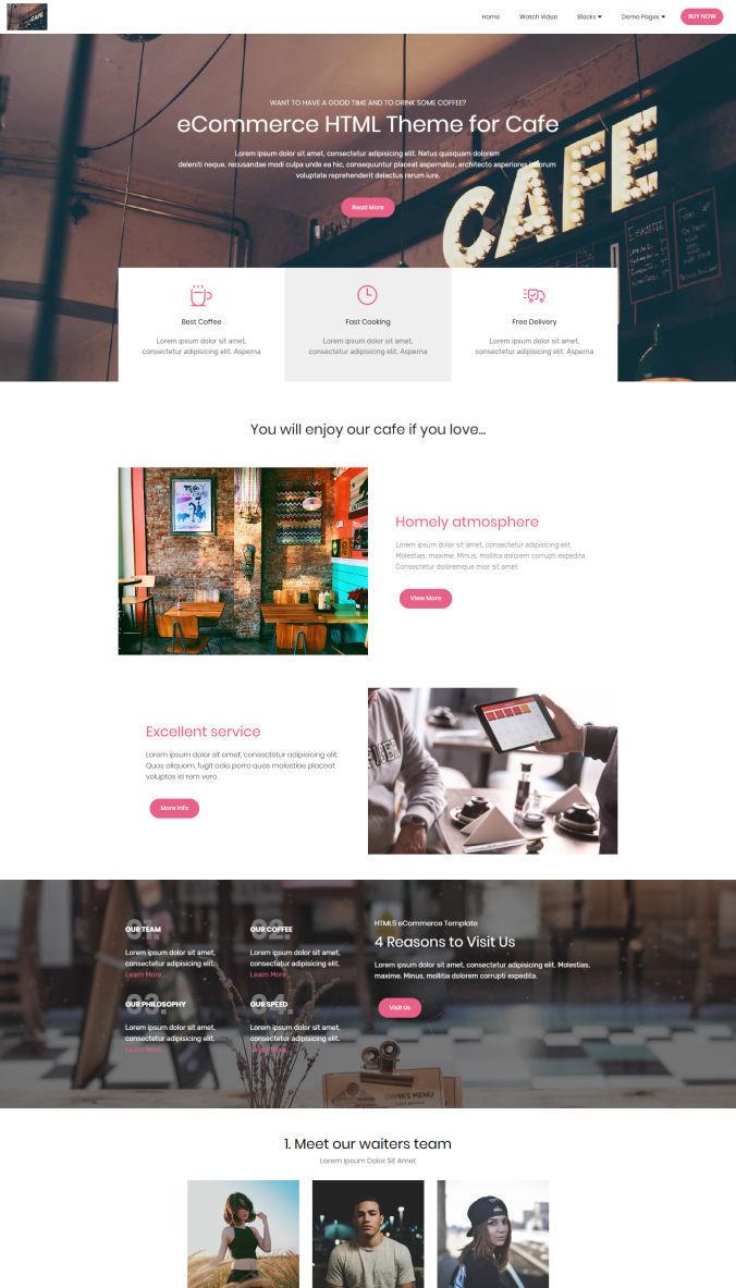 eCommerce Website Template